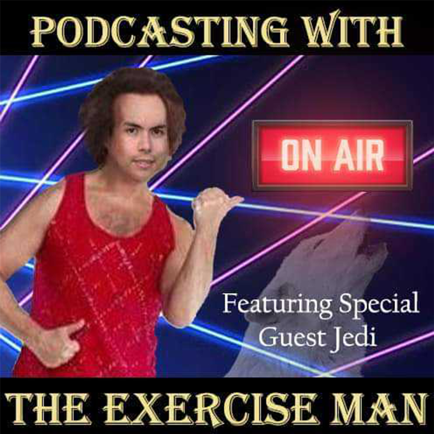 Podcasting with the Exercise Man